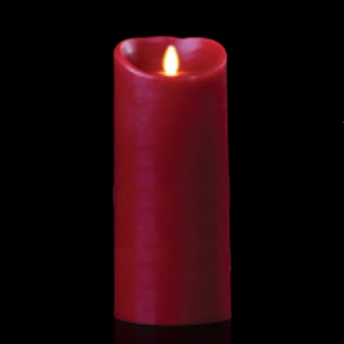 Luminara Flameless Led Candle Indoor Wax Burgundy