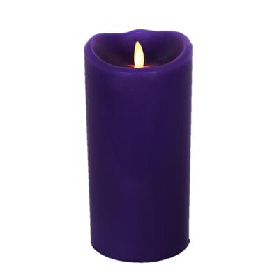 Luminara Flameless Led Candle Indoor Wax Purple