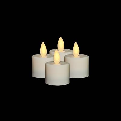 Liown Flameless Led Tealights Set Of 4 X 1 5 Inch X 1