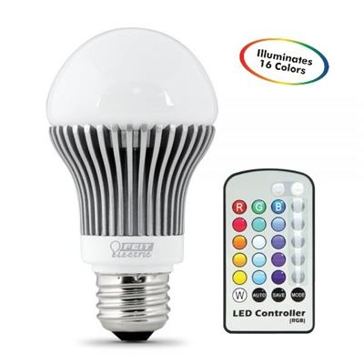 Feit Electric Led Bulb A19 Remote Control Color