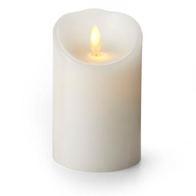 Luminara Flameless Led Candle Indoor Wax White