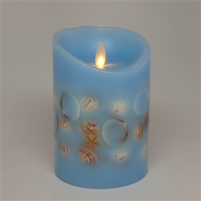 Dancing Moving Flame - Flameless LED Candle - Embedded ...