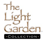 "The Light Garden - FlameIllusion (Formerly FlameWave) Hurricane Lantern Housing - Metal and Glass - ""Moroccan"""